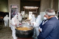 توزیع ۲۰۰۰ پرس غذای گرم در آبیک