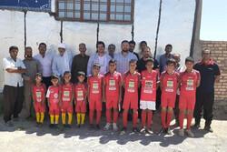 احداث مدرسه در مناطق محروم مرزی توسط خیرین و قهرمانان کشتی