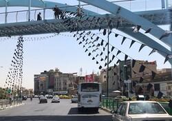 بهسازیو آماده سازی بوستان های شمال شرق تهران برای عزاداران حسینی