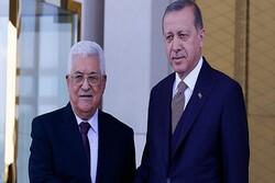 Erdoğan ile Mahmud Abbas Filistin meselesini görüştü