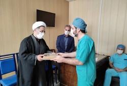 تجلیل مدیرکل تبلیغات اسلامی آذربایجان شرقی از پزشکان بیمارستان سینا
