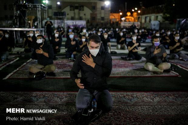 عزاداری شب دوم محرم در هیئت محبان الرضا(ع)