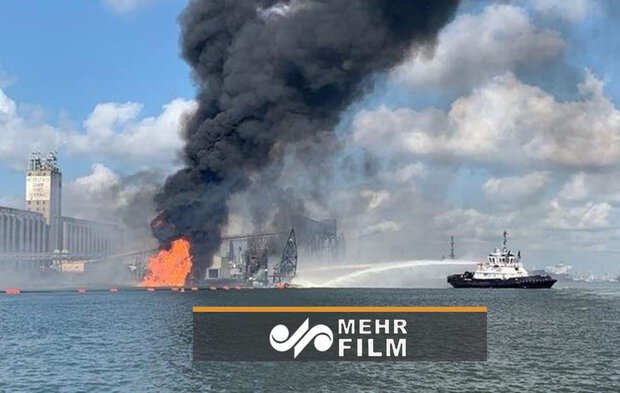 VIDEO: Pipeline explosion hits a Texas port