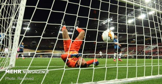 دیدار فینال لیگ اروپا بین تیم های فوتبال سویا و اینتر ایتالیا