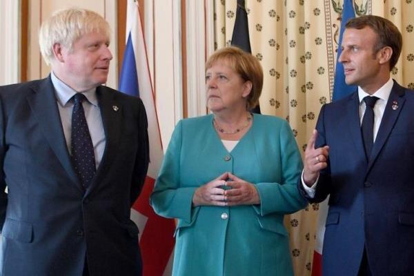 سران انگلیس، فرانسه و آلمان با بایدن گفتگو کردند