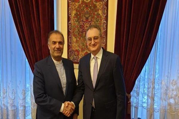 Iran, Russia discuss bilateral ties, regional developments