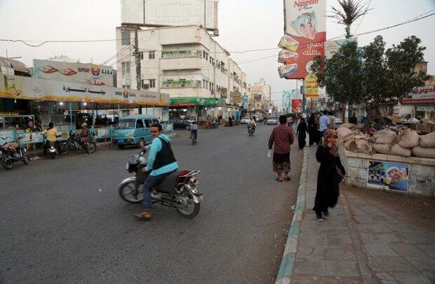 """الیمنیون يغيرون اسم شارع زاید الی """"فلسطین"""""""
