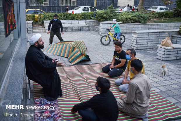 حسینیه در خیابان