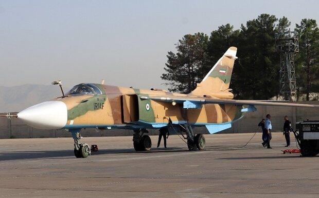 یک فروند جنگنده «سوخو ۲۴»بازآماد شد