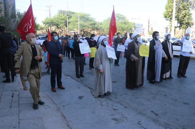 بوشهریها عادیسازی روابط امارات و رژیم صهیونیستی را محکوم کردند