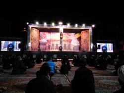 آخرین وداع مرحوم عبدالجواد علمالهدی در مراسم عزای حسینی