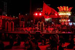 Third night of Muharram mourning in Tehran