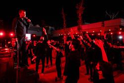 انجمن ریحانۃ النبی (ص) کی طرف سے محرم کی تیسری شب میں مجلس عزا منعقد