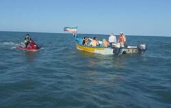 کنترل تردد بیش از ۸۰۰ فروند شناور تفریحی در شهرستان مرزی آستارا