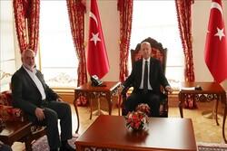 هیات حماس به ریاست اسماعیل هنیه با اردوغان دیدار کرد