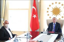 اردوغان يستقبل هنية على رأس وفد من حركة حماس