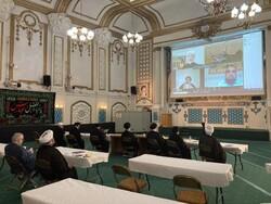 Memorial ceremony of Ayatollah Taskhiri held in London