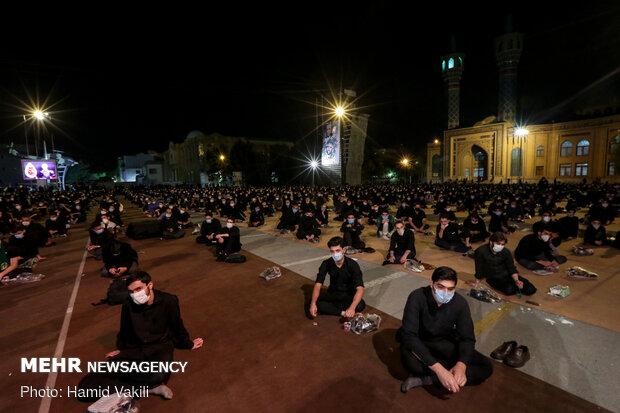 Tehraners mark Muharram's 2nd night with anti-corona measures