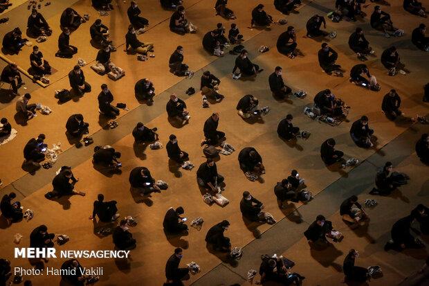 مراسم عزاداری شب سوم محرم در دانشگاه افسری امام علی (ع)