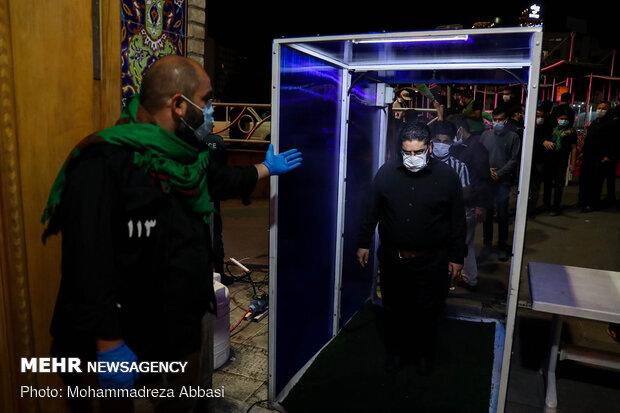 العزاء الحسيني في الثاني من محرم بشمال طهران