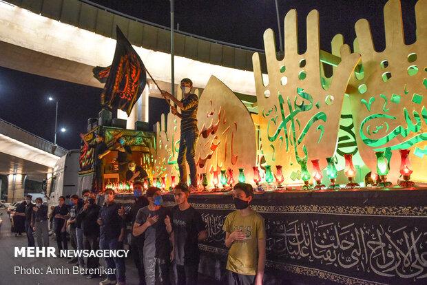 Muharram ceremonies in Shiraz