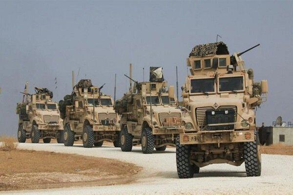 خمسين آلية عسكرية تابعة لقوات الاحتلال الامريكي تدخل الى الاراضي السورية