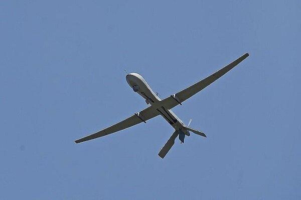 Zionist regime's spy drone shot down in Gaza