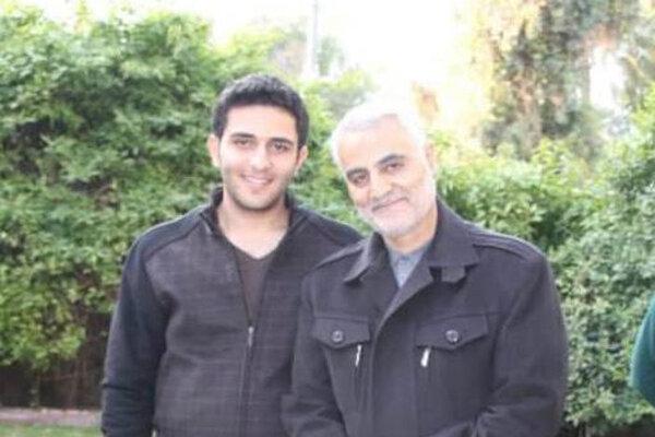 همرزمی باحاج قاسم ارثیه پدری او بود/تا فرودگاه بغداد پای او ماند
