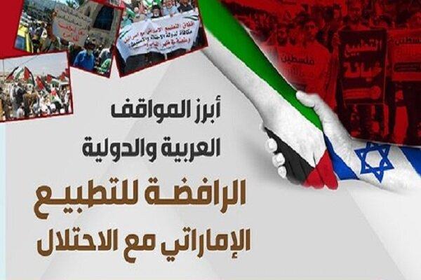 المتبرؤون من البیان التطبیعي الاماراتي