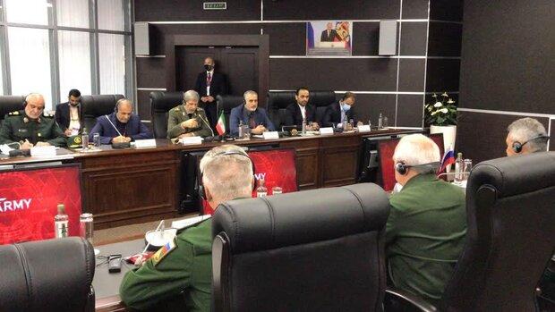 العميد حاتمي يؤكد على ضرورة التعاون بين طهران وموسكو