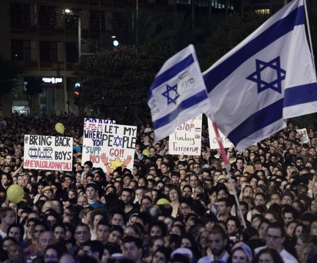 مواجهات بين الشرطة الصهيونية ومعارضين لنتنياهو