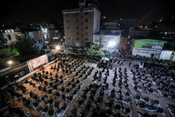 عزاداری شب چهارم محرم در هیئت عشاق الحسین(ع)