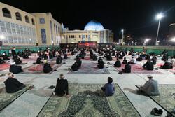یزد میں حوزہ علمیہ مدینۃ العلم کاظمیہ میں محرم کی چوتھی شب میں مجلس عزا منعقد