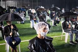 رشت میں حسینی عزاداروں پر باران رحمت