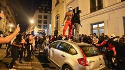 درگیری و خرابکاری در پاریس پس از باخت پاری سنژرمن