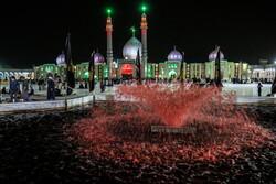 مسجد جمکران میں سید الشہداء کی عزاداری کے شاندار جلوے