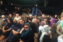 یزد میں حسینیہ ایران میں عاشورائی جوش و جذبہ اور ولولہ کی لہر جاری
