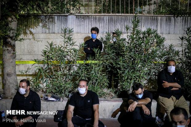 4th night of Muharram mourning ceremonies in Tehran