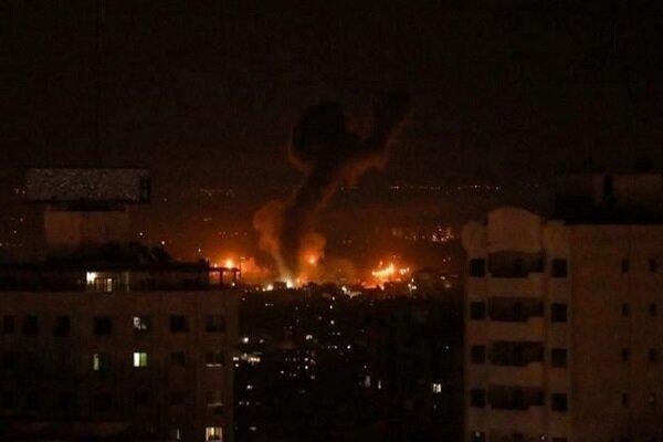 طائرات الكيان الصهيوني تجدّد غاراتها على قطاع غزة