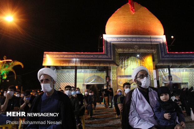 Fourth night of Muharram mourning in NE Iran