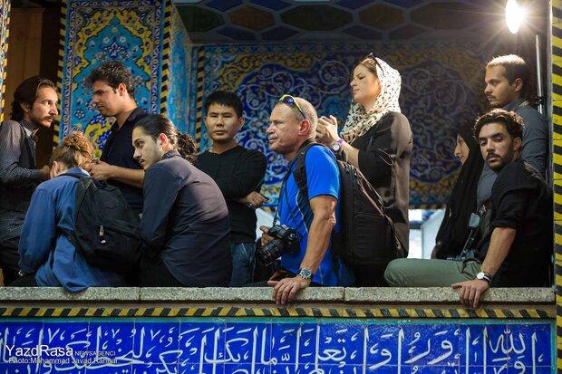 حسینیه ایران سیاهپوش شهید نینوا/جای سفیران فرهنگی عاشورا خالیست