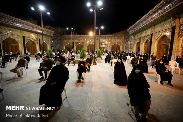 Muharram mourning in Jami' Mosque of Gorgan under pandemic