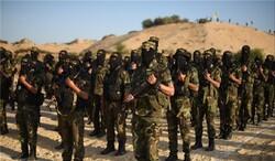 سرايا القدس تزف أربعة من مجاهديها الأبطال بلواء غزة