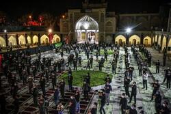 زنجان میں انجمن مکتب الزہرا(س) کی طرف سے محرم کی پانچویں شب میں عزاداری