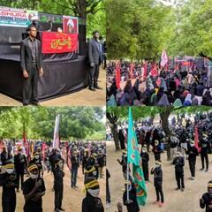 نائجیریا میں سید الشہداء اور کربلا کے پیاسوں کی یاد میں عزاداری کا سلسلہ جاری