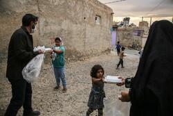 طلباء انجمن کی طرف سے حسینی اطعام کا اہتمام