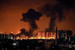 اسرائیلی فضائیہ کا غزہ پر وحشیانہ حملہ