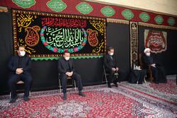صدر حسن روحانی اور کابینہ کے بعض ارکان کی مجلس عزا میں شرکت