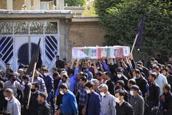 بسیجی کردستانی در شهر مریوان به درجه رفیع شهادت نائل آمد