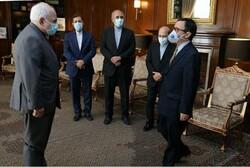 FM Zarif bids farewell to outgoing Chilean envoy